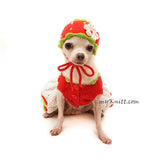 Custom Chihuahua Clothes Dog Hat Crochet by Myknitt