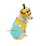 Despicable Me Dog Costume, Minion Dog Clothes by Myknitt