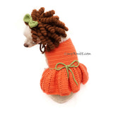 Funny Dog Costume Princess Merida by Myknitt