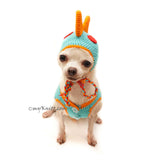 Dinosaur Dog Hat, Dinosaur Hat Crochet, Dog Hat Crochet, Myknitt