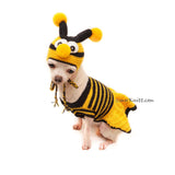 Funny Dog Costume, Bumble Bee Costume For Dog by Myknitt