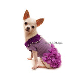Chihuahua Dress Custom Crochet by Myknitt