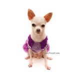 Chihuahua Dress, teacup chihuahua clothes, custom chihuahua clothing by Myknitt