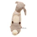 Bunny Dog Costume Crochet, Bunny Rabbit Chihuahua Clothes by Myknitt