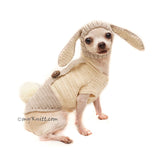 Peter Rabbit Dog Hat, Peter Rabbit Pet Costume Halloween by Myknitt