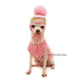 Pink Chihuahua Sweater, Custom Chihuahua Clothes, Myknitt