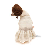 Princess Leia Pet Cosplay, Princess Leia Pet Costume Myknitt