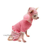 Cute Pet Pajama Costume Handmade by Myknitt