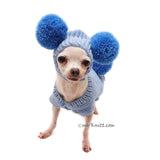 Pom Pom Dog Hat Crochet Myknitt