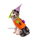 Funny Dog Wig Witch Crochet by Myknitt