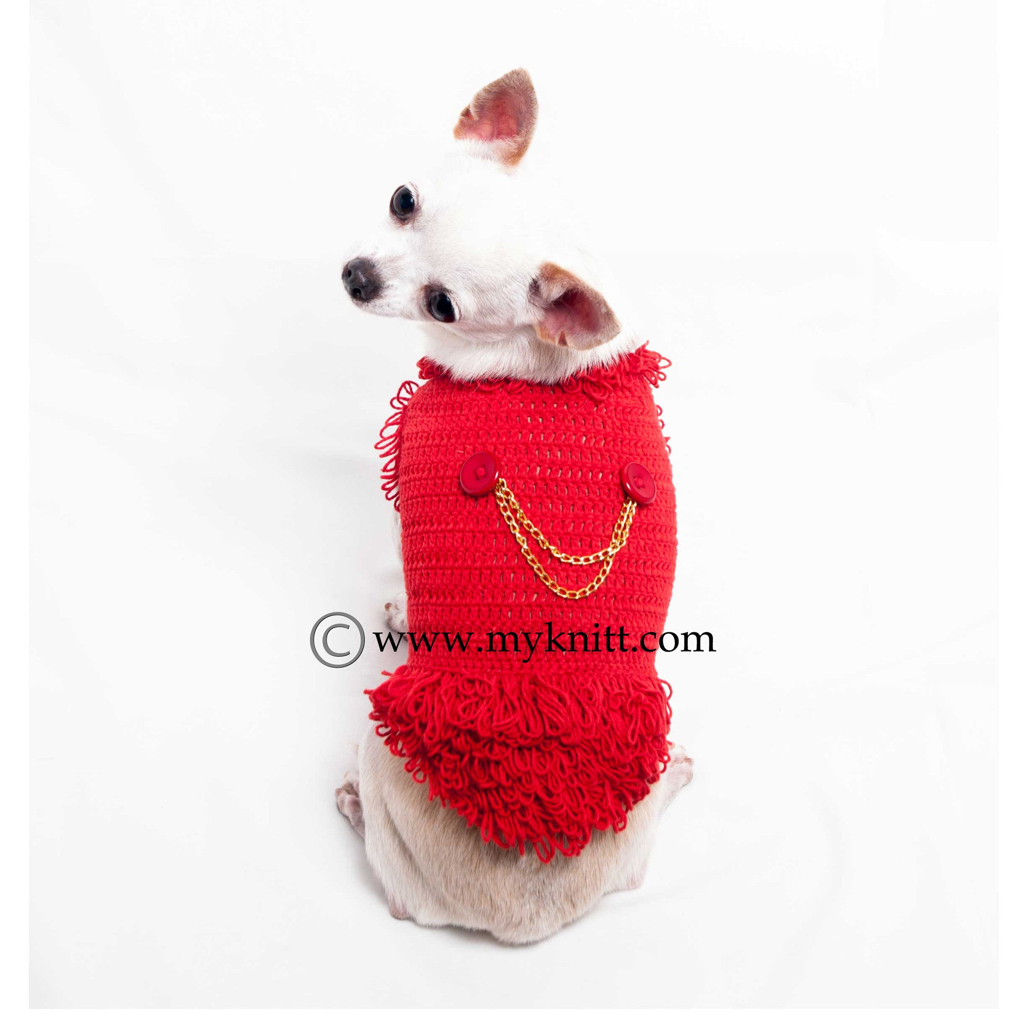 Michael Jackson Dog Costumes King Of Pop Dresses Crochet DF39