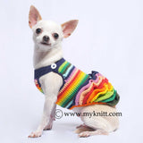 Victorian Colorful Dog Dresses Fluffy Ruffle Chihuahua Clothes DF49
