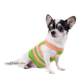 Cotton Pastel Dog Harness Chihuahua DH12 - Myknitt (1)