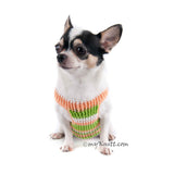 Cotton Pastel Dog Harness Chihuahua DH12 - Myknitt (2)