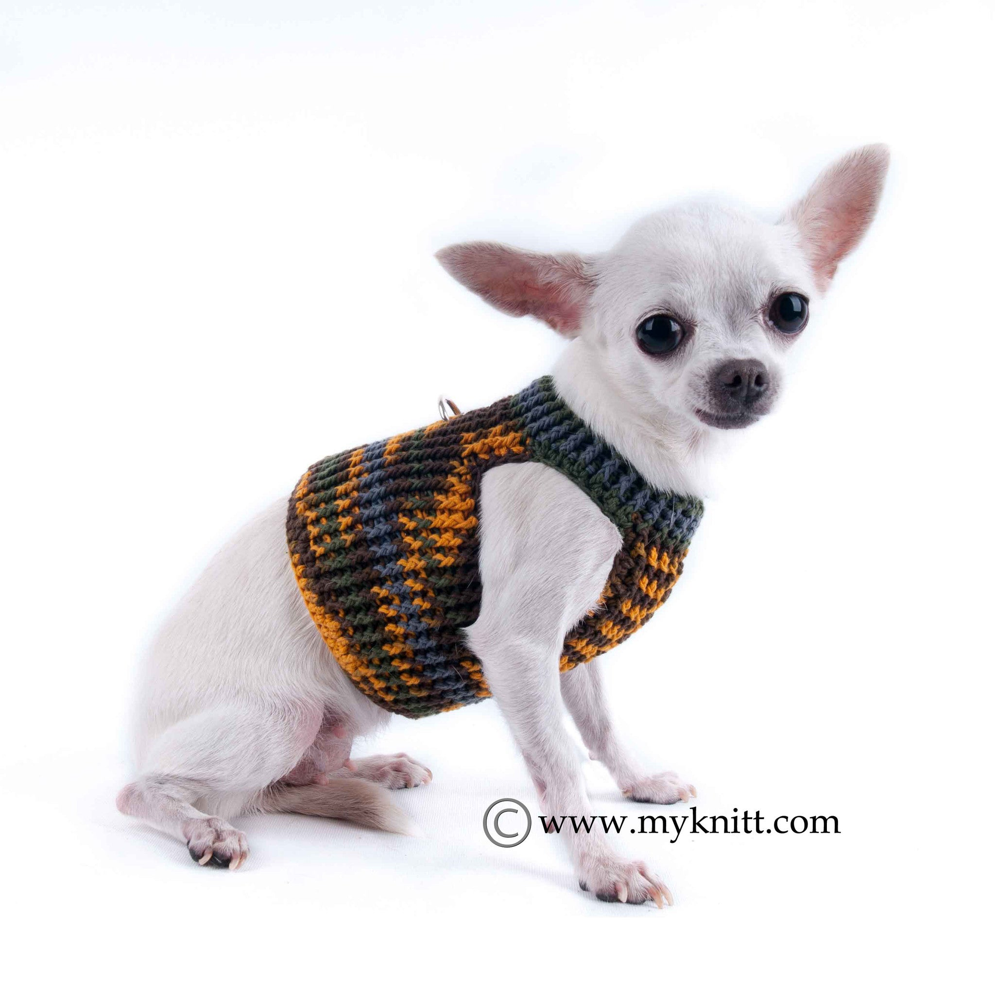 DH3_1?v=1458269081 camo dog clothes with ring d handmade crochet pet harness dh3 myknitt