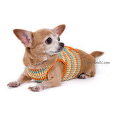 Velcro Adjustable Puppy Harness Choke Free Chihuahua Harness DH76 by Myknitt (2)