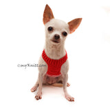 Chihuahua Clothes, Chihuahua Harness, Dog Harness Small by Myknitt