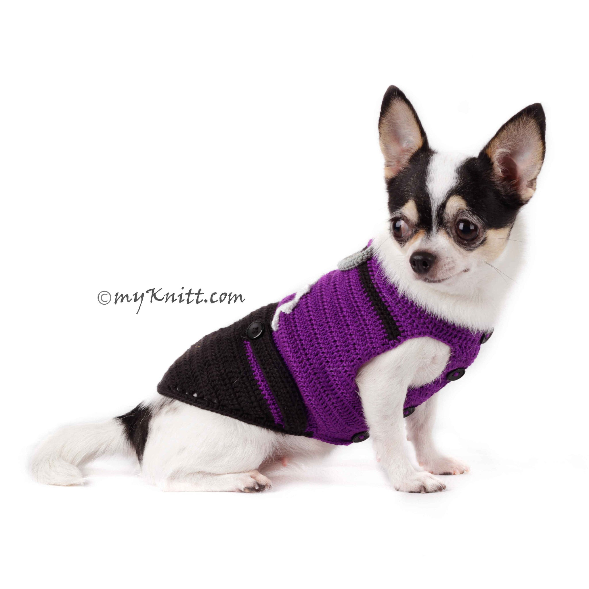 Dog Clothes For Halloween | Evil Minion Dog Costume Purple Despicable Me Pet Clothes Halloween