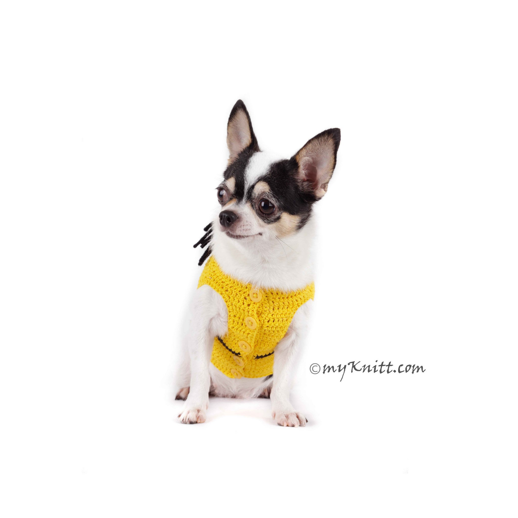 Pink Minion Dog Costume Cute Girl Despicable Me Pet Clothes for Halloween DK783  sc 1 st  Myknitt.com & Pink Minion Dog Costume Cute Girl Despicable Me Pet Clothes for ...