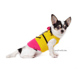 Pink Minion Dog Costume Cute Girl Despicable Me Pet Clothes for Halloween DK783 by Myknitt  (1)