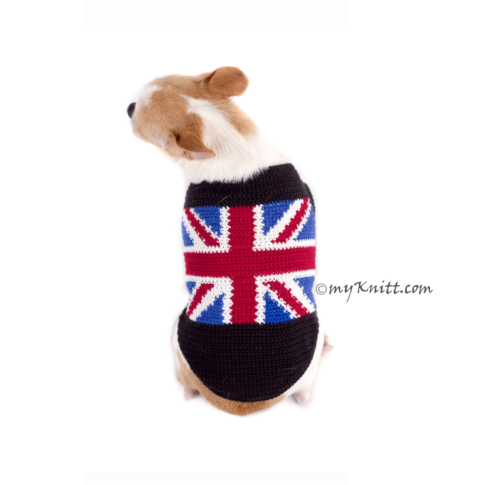 Union Jack Dog Clothes UK British Flag Shirts DK789