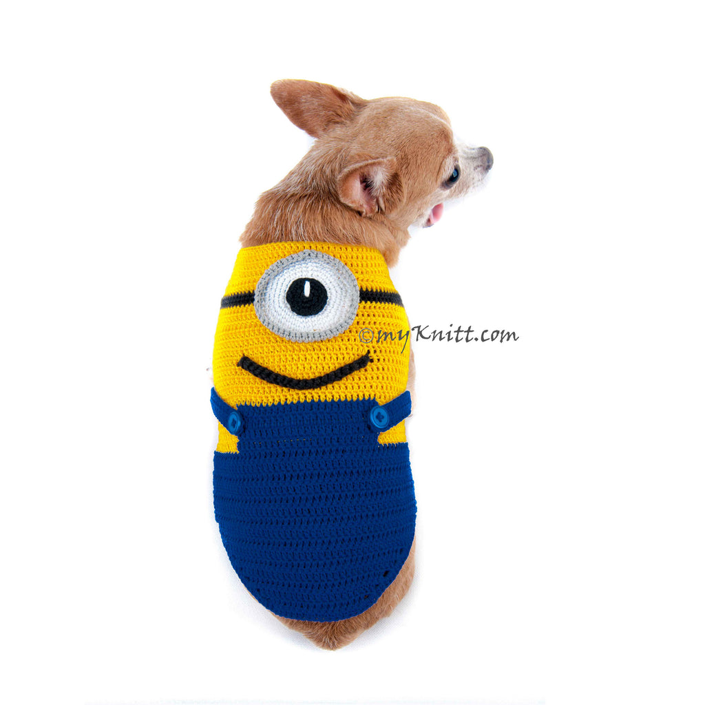 Minions Despicable Me Stuart Dog Costume DK997