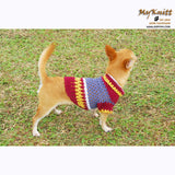 Casual Dog Clothes Lightweight Cotton Chihuahua Clothing DK817 by Myknitt (1)