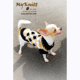 Myknitt designer dog clothes,  custom dog clothes by Myknitt