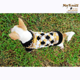 knitting pet sweater, Chihuahua clothes personalized by Myknitt