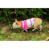 Pink Dog Clothes Casual Pet Clothing DK824 by Myknitt (1)
