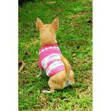 Pink Dog Clothes Casual Pet Clothing DK824 by Myknitt (2)