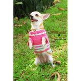 Pink Dog Clothes Casual Pet Clothing DK824 by Myknitt (3)