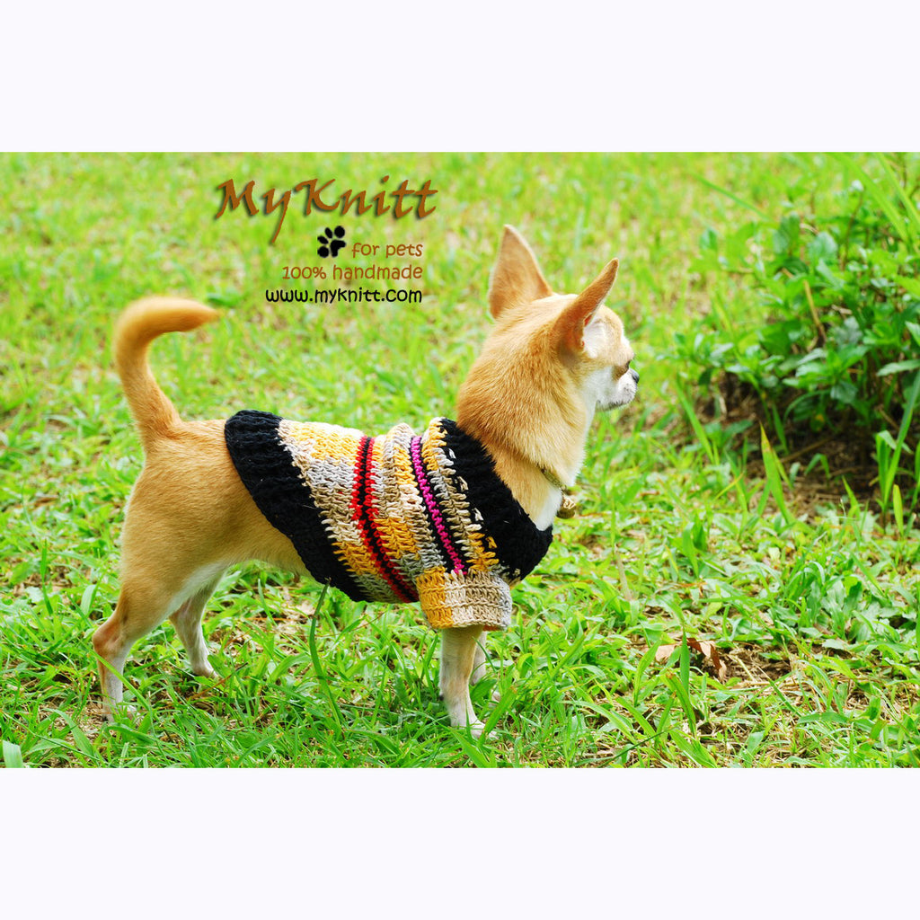 Rustic Dog Clothes Cream Lightweight Chihuahua Clothing DK826