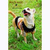 Rustic Dog Clothes Cream Lightweight Chihuahua Clothing DK826 by Myknitt (2)