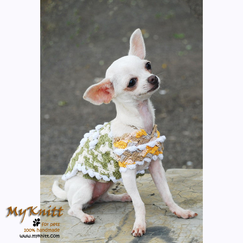 Unique Soft Pastel Chihuahua Clothes Dog Coat DK828