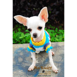 Cute Houndstooth Dog Clothes Colorful Chihuahua Clothing DK829 by Myknitt (3)