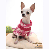 Pink Knitted Dog Sweater Japan Kimono Dog Clothes DK852 by Myknitt (3)