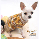 Rustic Crochet Dog Sweater Chihuahua Clothes DK853