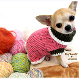 Strawberry Shortcake Crocheted Dog Sweater DK861 by Myknitt (2)