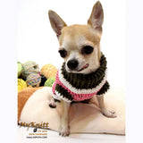 Strawberry Shortcake Crocheted Dog Sweater DK861 by Myknitt (3)