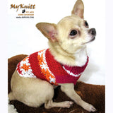 Teacup Dog Clothes, Dog Clothes Crochet, Dog Flower Dress, Myknitt