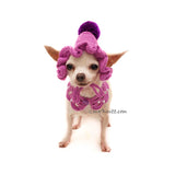 Cute Granny Dog Hat Crochet by Myknitt