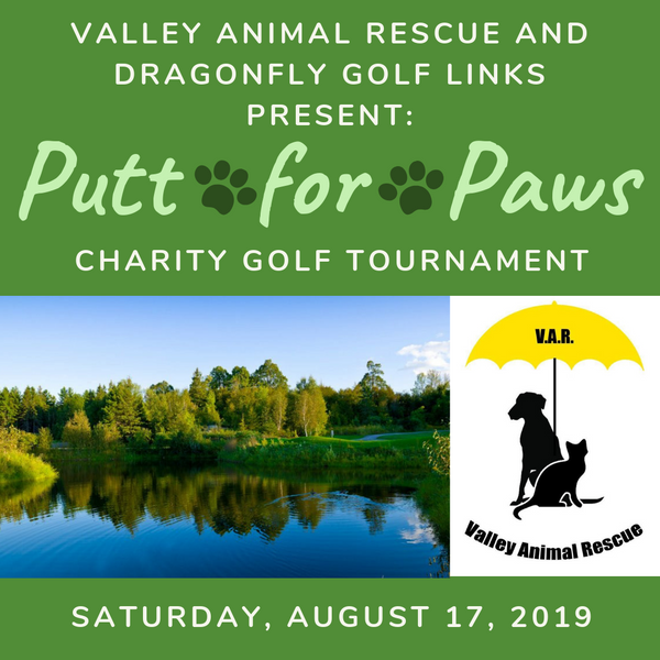 """Putt for Paws"" Tournament Entry"