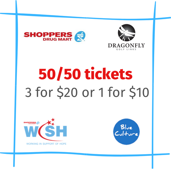 Shoppers Drug Mart - 50/50 tickets