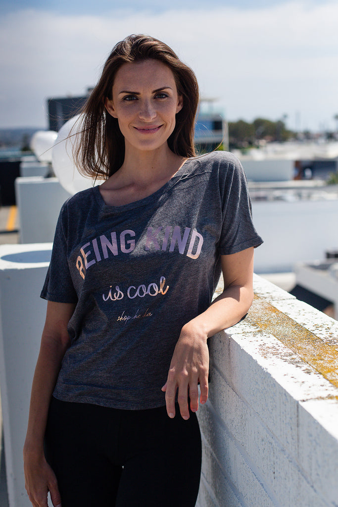 Being Kind is Cool Open Back Tee