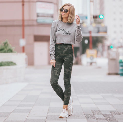 Boss Babe Cropped Sweatshirt