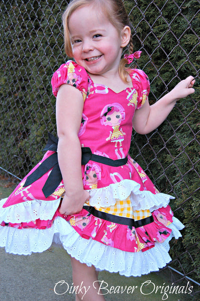 Belle Rococo French Princess Dress with Pettiskirt PDF Sewing Pattern