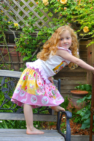 Skirts on Parade 3 Skirt Styles for Girls and Women PDF Sewing Patttern