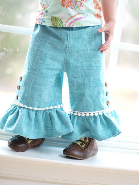 Marley Pants and Camille Top Bundle, Two Complete PDF Sewing Patterns!