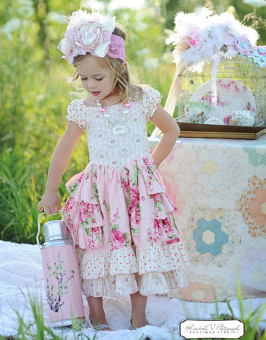 Sugarplum Princess Dress PDF Sewing Pattern